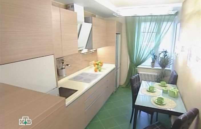 Кухня вытянутая дизайн