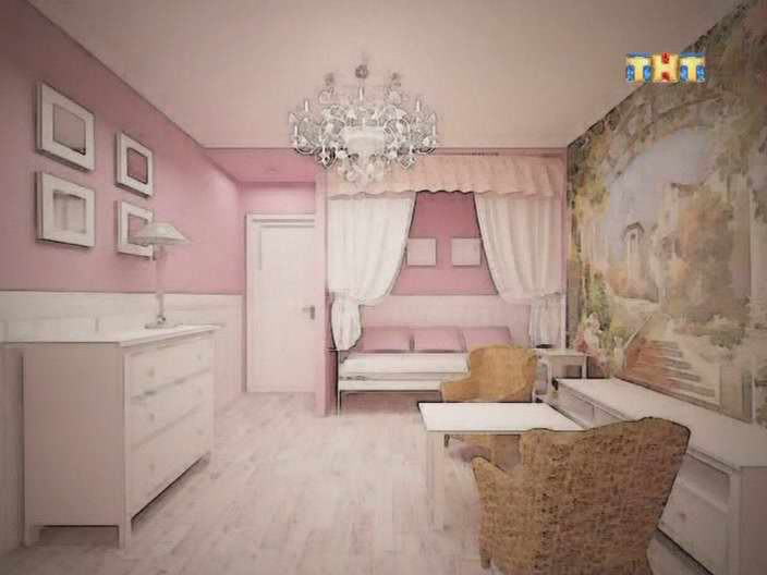 Квадратная детская комната