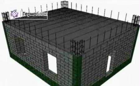 Строительство из блоков полистиролбетона (новая технология)