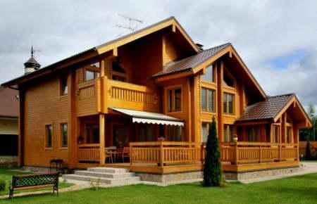 Как построить дом своими руками из бруса