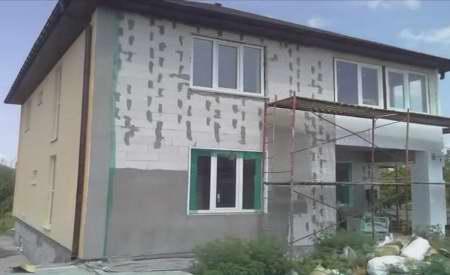 Построить дом своими руками из пеноблоков