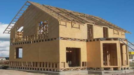 Построить своими руками каркасный дом