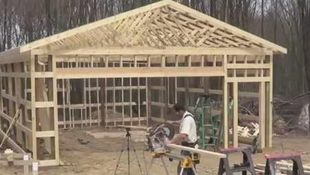 Проекты гаражей с хозблоком