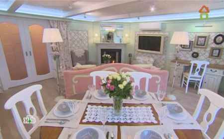 Дачный ответ (22-05-2016) Английская гостиная с розами