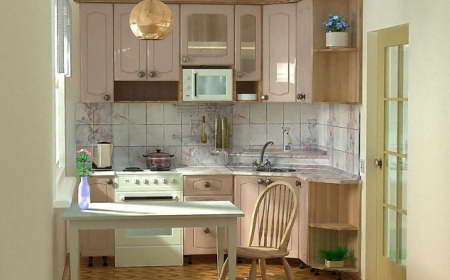 Кухни в хрущевках дизайн фото 6 кв м