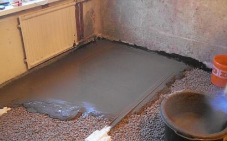 Марка бетона для пола в гараже