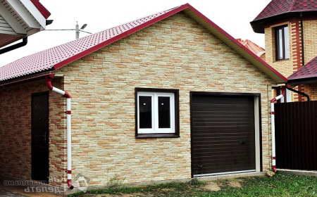 Из чего лучше строить гараж