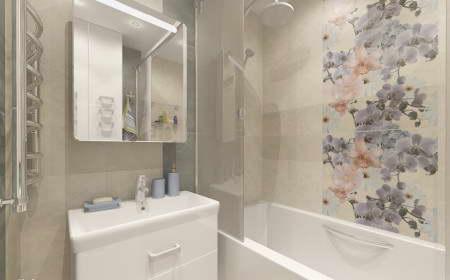 Ванна 3 кв.м дизайн