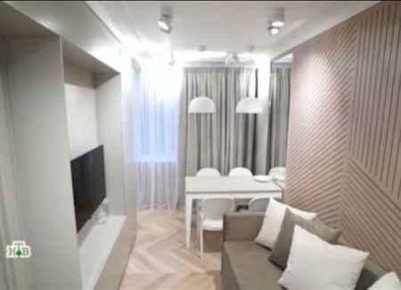 Квартирный вопрос (27-01-2018) Вдохновляющая кухня-гостиная в небольшой квартире
