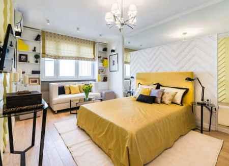 Школа ремонта (24-03-2018) Спальня гостиная в зигзагах
